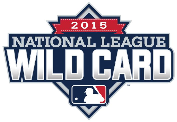 NL Wildcard Game Primary Logo (2015) - 2015 National League Wildcard Game Logo - Pittsburgh Pirates vs Chicago Cubs