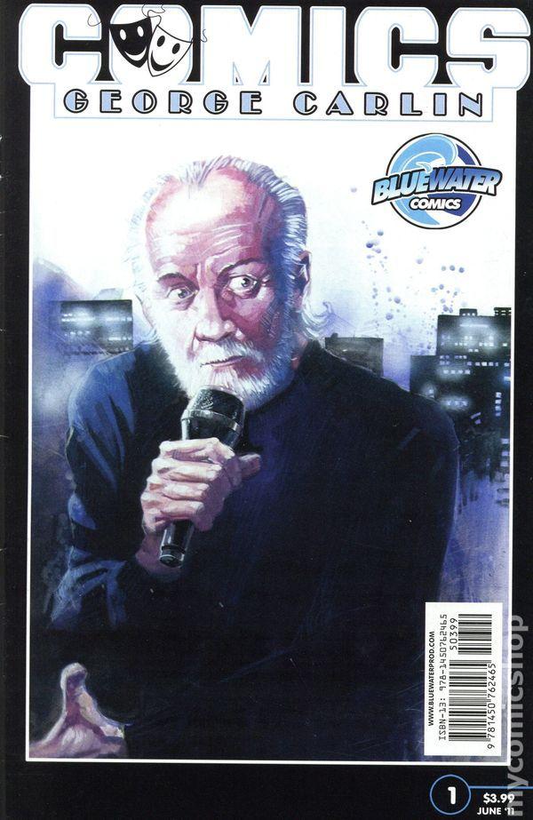 Comics: George Carlin (2011 Bluewater Comics) 1