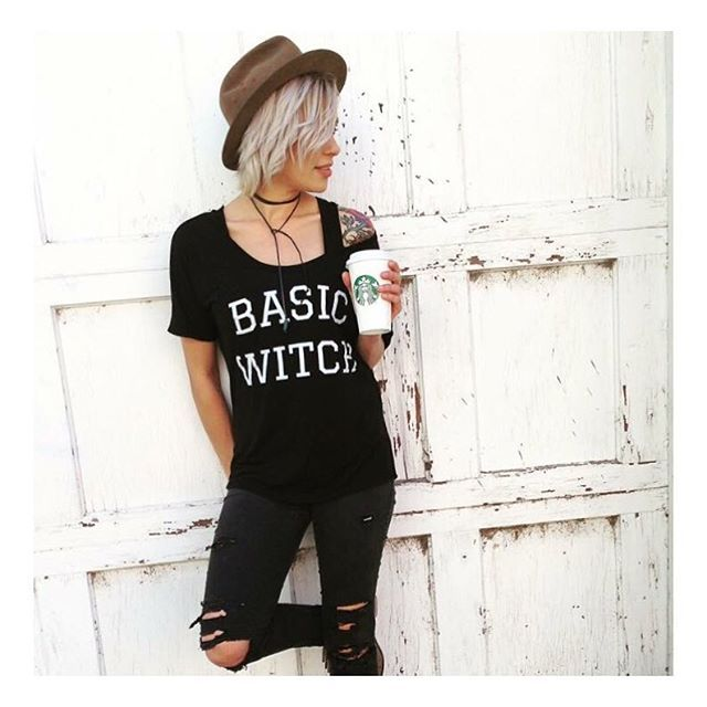 Just a •BASIC WITCH• doing basic witch things. 🔮 There are only a few of these left, did you get yours yet? 😍❤️🙌🏻👻 • • • • • • #cutekidsclub #igfashion #kidzootd #instagram_kids #trendykiddies #babiesofinstagram #kidzfashion #kidslookbook #kids_stylezz #thechildrenoftheworld #igkiddies #flylittleguy #kidsfashion #toddlerfashion #harrypotter #quidditch #mischief #potterhead #harrypotterforever #heyghoulhey #ghost #ghoul #ghoulnextdoor #halloween #basicwitch #witch #restingwitchface…