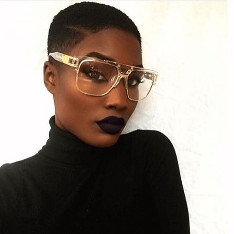 Fierce Tapered Cut @gsterl #naturalhairmag http://www.naturalhairmag ...