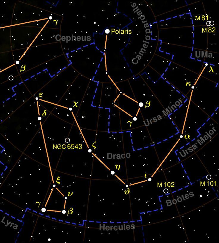 draco constellation - Google Search