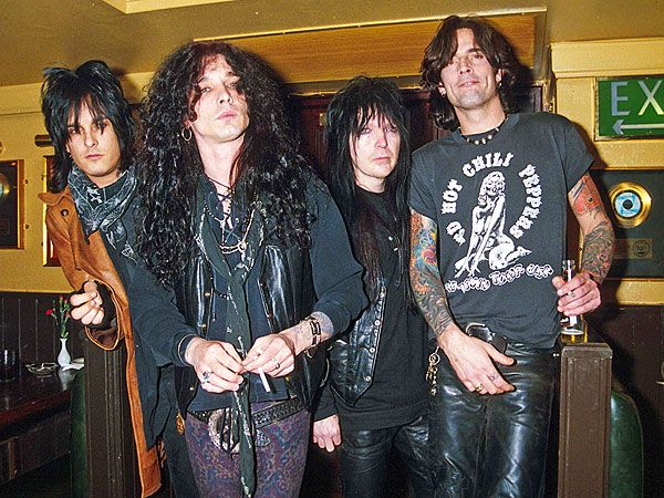 Motley Crue with John