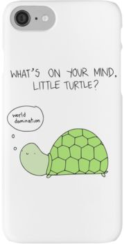 Turtle World Domination iPhone 7 Cases