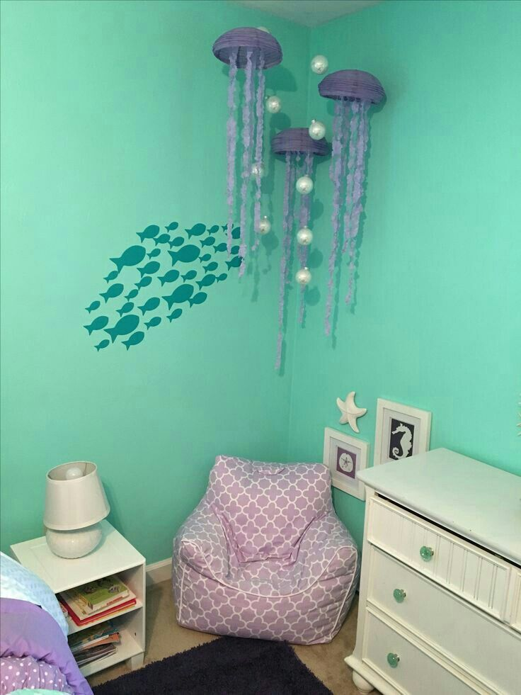 This Would Be An Adorable Kids Room Beach Ocean Under The Sea