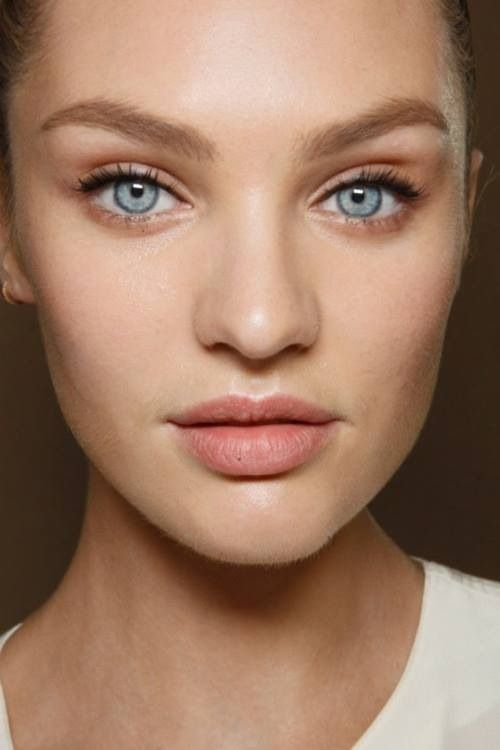 Candice Swanepoel natural girly make-up