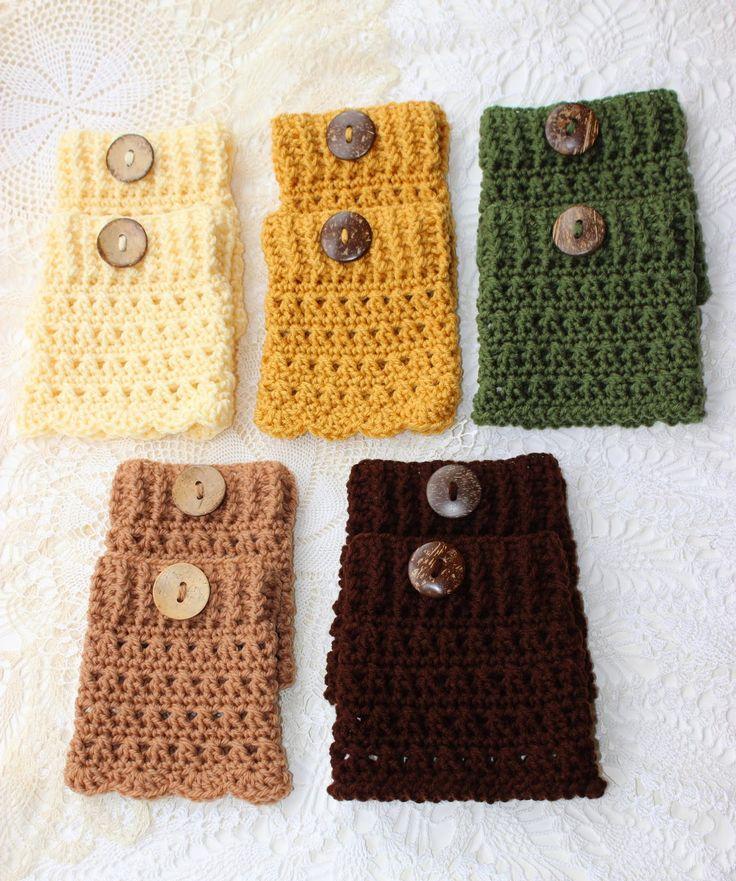 316 Best Boot Cuffs Images On Pinterest Filet Crochet Knit
