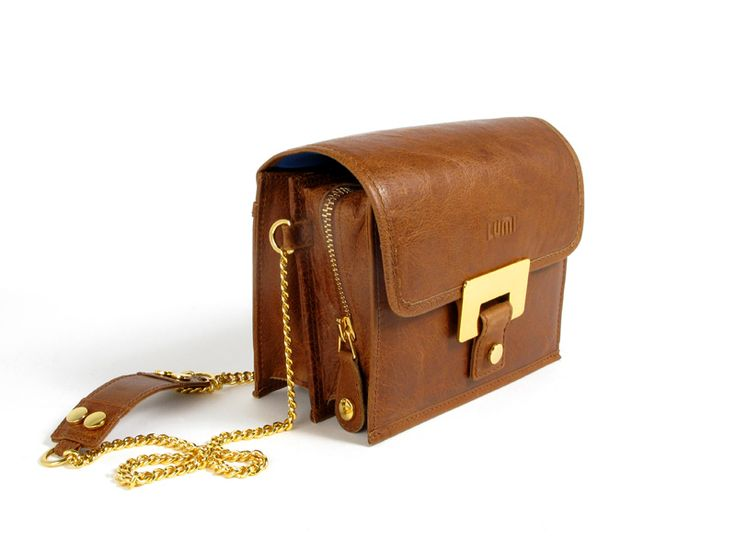 Irina Small Saddle Bag / Lumi