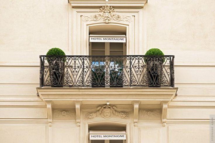 Htel Montaigne, Paris, 2013 - Pierre-Yves Rochon
