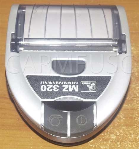 Impresora Termica Zebra Mz 320. Bateria Perfecta!! - BsF 2.500,00