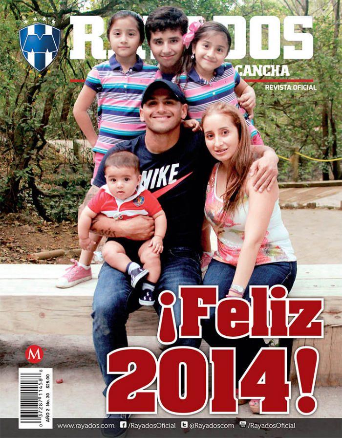 ¡Ya llegó la Revista #Rayados de Enero! ¡Feliz 2014, #FamiliaRayada!