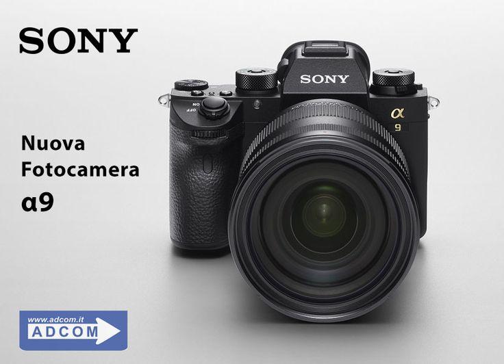 Nuova fotocamera Sony α9 In qualità di fotocamera digitale più innovativa e dalla tecnologia più avanzata realizzata da Sony, l'α9 offre un livello di prestazioni di imaging impareggiabile rispetto alle altre fotocamere presenti sul mercato, che siano mirrorless, Reflex o di altre tipologie. Info: https://www.adcom.it/news.php?lang=it&idliv1=5&idn=434