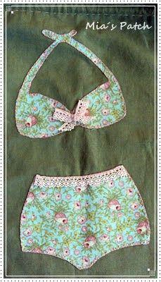 bolsita para ropa interior- Mia´s patch: Trabajos de alumnas y amigas