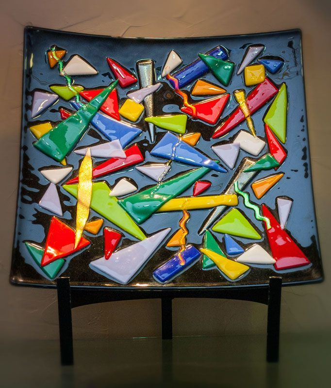 Fused Glass Plates | fused glass plate