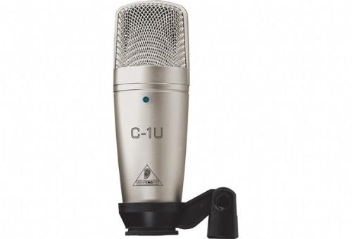 Microfone Condensador Behringer C1u Usb Lacrado Pta Entrega - R$ 225,00