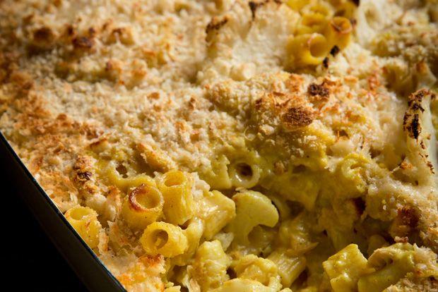 Family favourite: Karen Martini's tuna pasta bake.