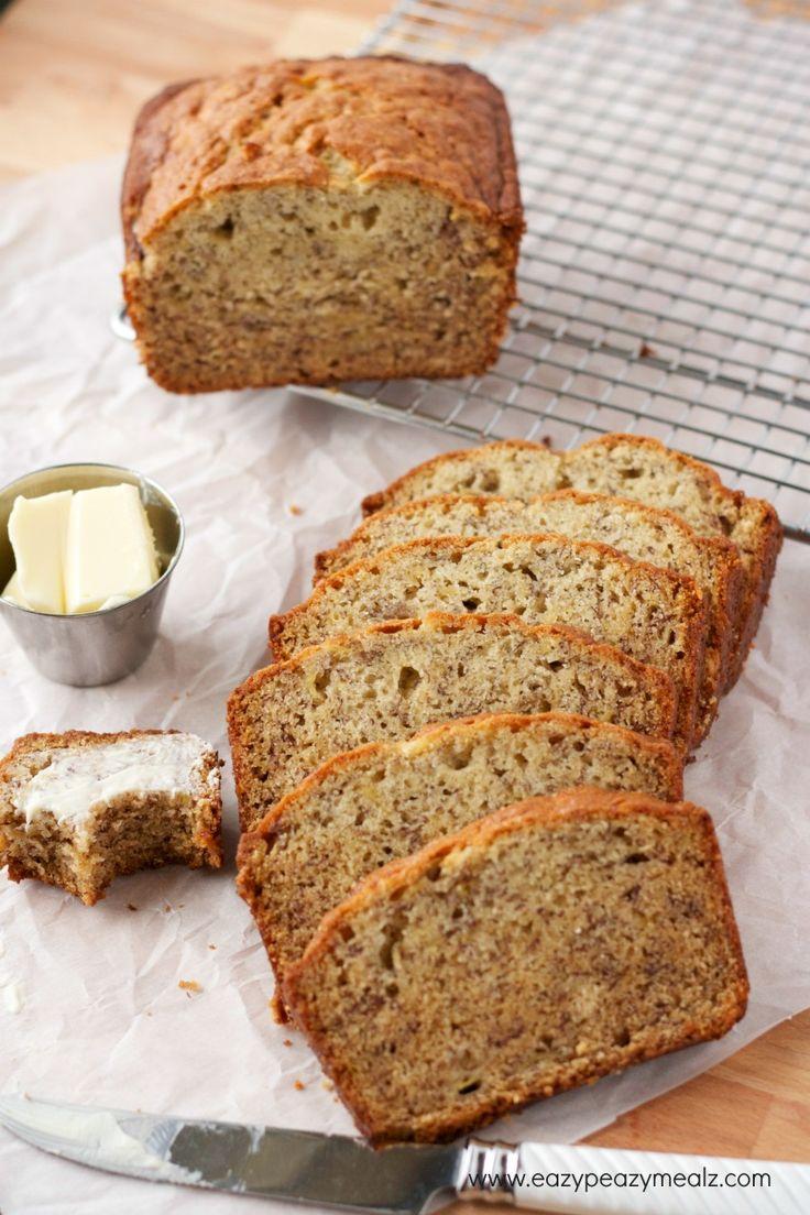 super easy banana bread