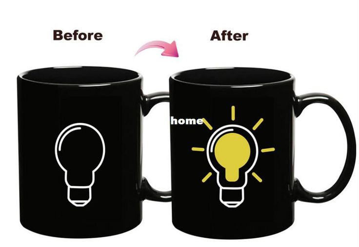 Wholesale-Hot sale Bulb color changing cup amazing heat sensitive Milk Mug ceramic tea cup magical coffee cup temperature changing