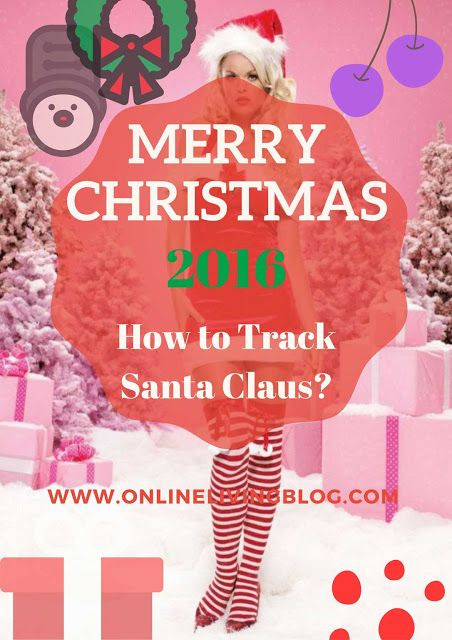 Where is Santa Claus? How to Track Santa Claus on Christmas Eve Merry Christmas!  Santa tracker will help them to find where Santa is right now