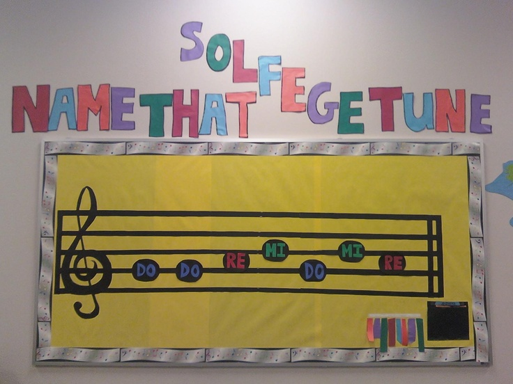 Elementary Music Classroom Decorations : Best images about music bulletin boards on pinterest