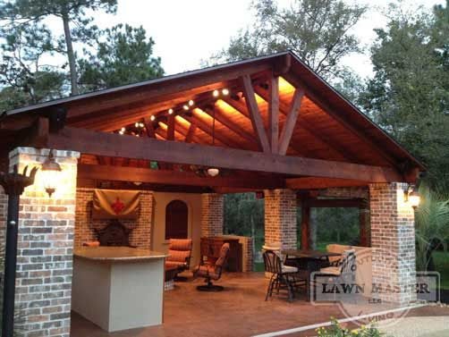 Lawn Master Outdoor Living : LOVE! Lawn Master Pavilion  Fences & Outdoor Decor ...