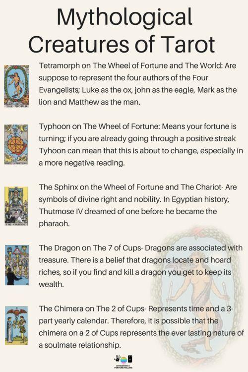Meanings of Animal Symbols on Tarot Cards | Tarot FAQs