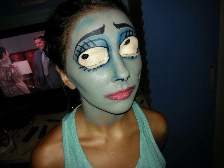 dead bride make-up