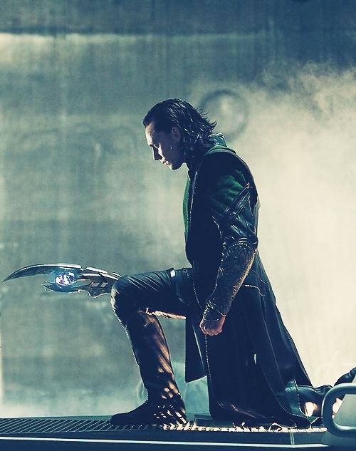 Loki Hiddleston.