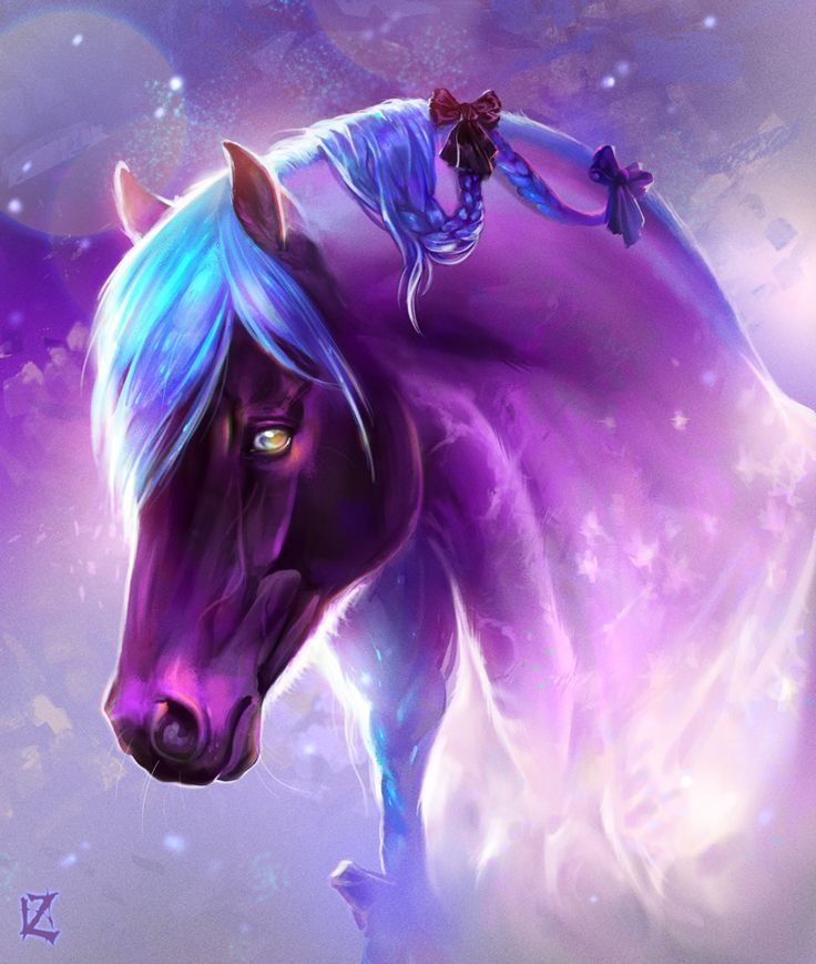 926 best equine images on pinterest unicorns magical violet mourning by daenzariantart on deviantart voltagebd Images