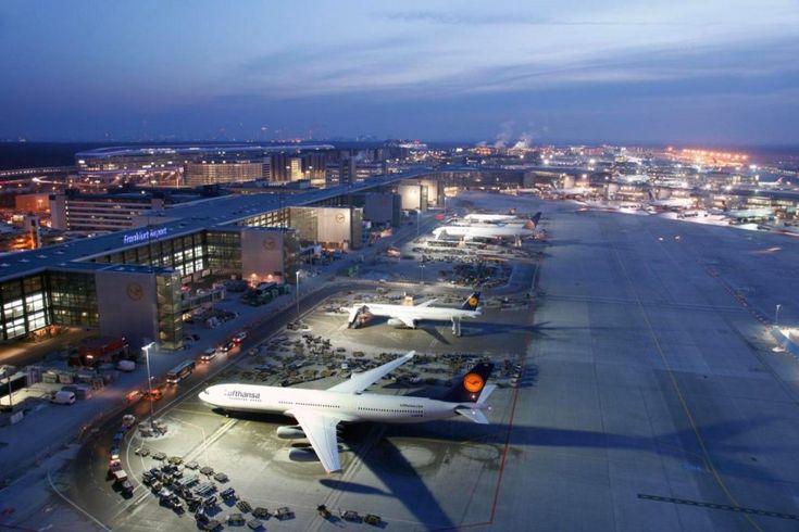10 самых больших аэропортов в мире 8.      Аэропорт Франкфурта-на-Майне