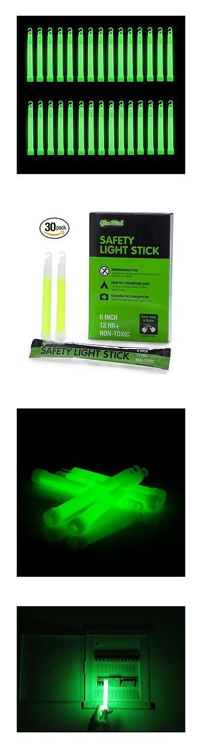 Glow Sticks 159091: 30 Industrial Grade Glow Sticks 6 Ultra Bright Emergency Light Sticks With +... -> BUY IT NOW ONLY: $39.88 on eBay!