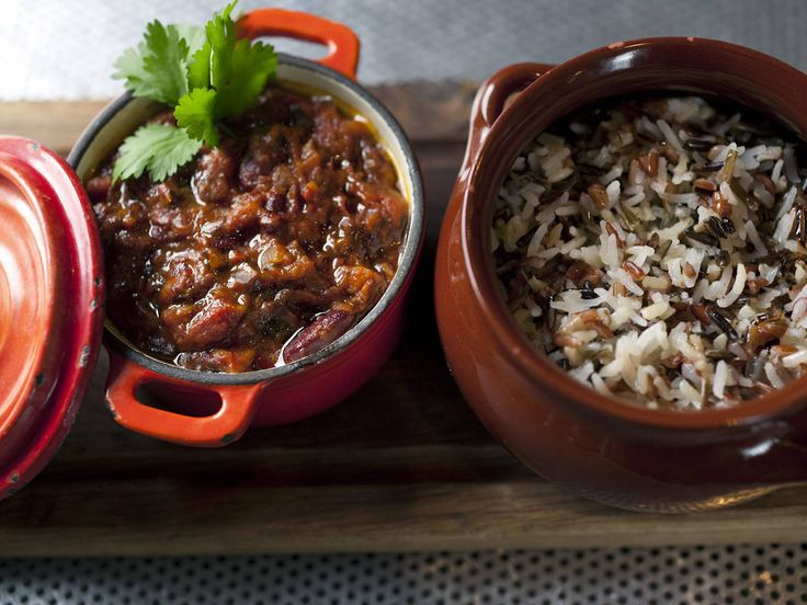Chilli con veggie with mixed rice at Grain Store £13