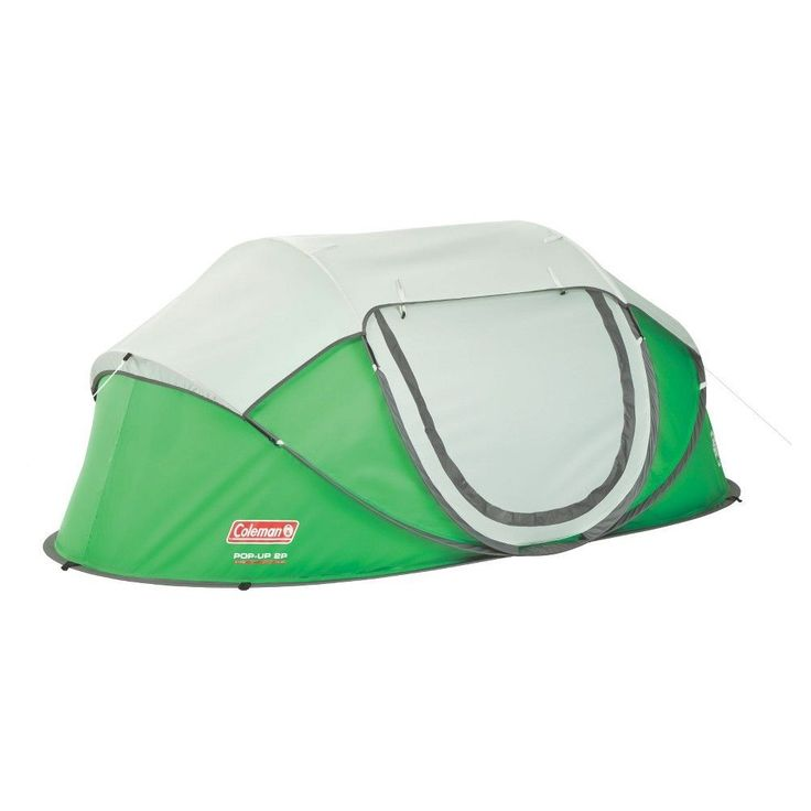 Coleman 2-Person Pop-Up Tent, Green