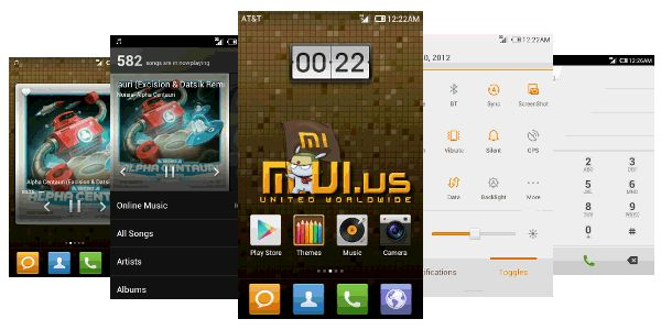 Miui, a Chinees Android Rom. Still on the fence on its looks. A bit to much for my tast. Undiniable is thought that they have some awesomely great features in that rom.