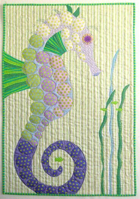 Seahorse quilt.: