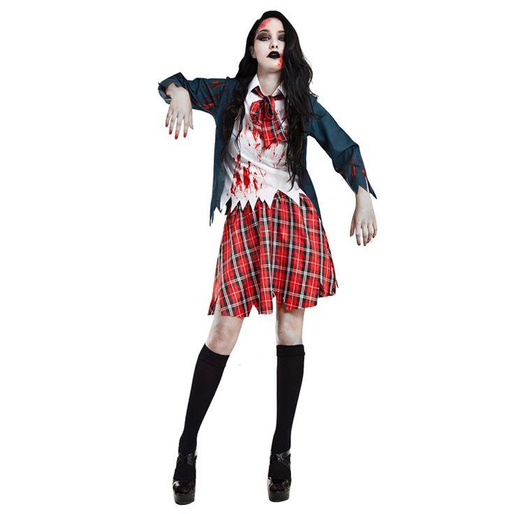 Disfraz de Colegiala Estudiante Zombie #carnaval #novedades2016