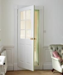 6 Panel Grained 6 Light Glazed | Internal Moulded Panel Doors | Doors & Joinery | Howdens Joinery