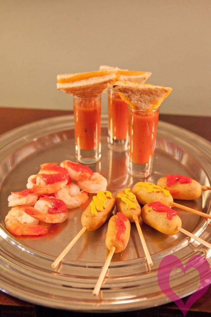 adorable appetizers for a wedding!!!