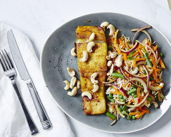 Turmeric Fish with Indian Rice
