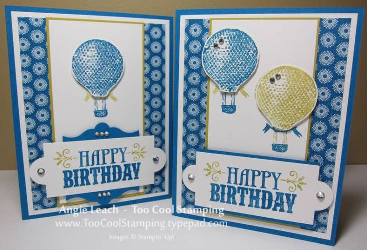 You're Amazing Balloon Cards using Stampin Up You're Amazing stamp set