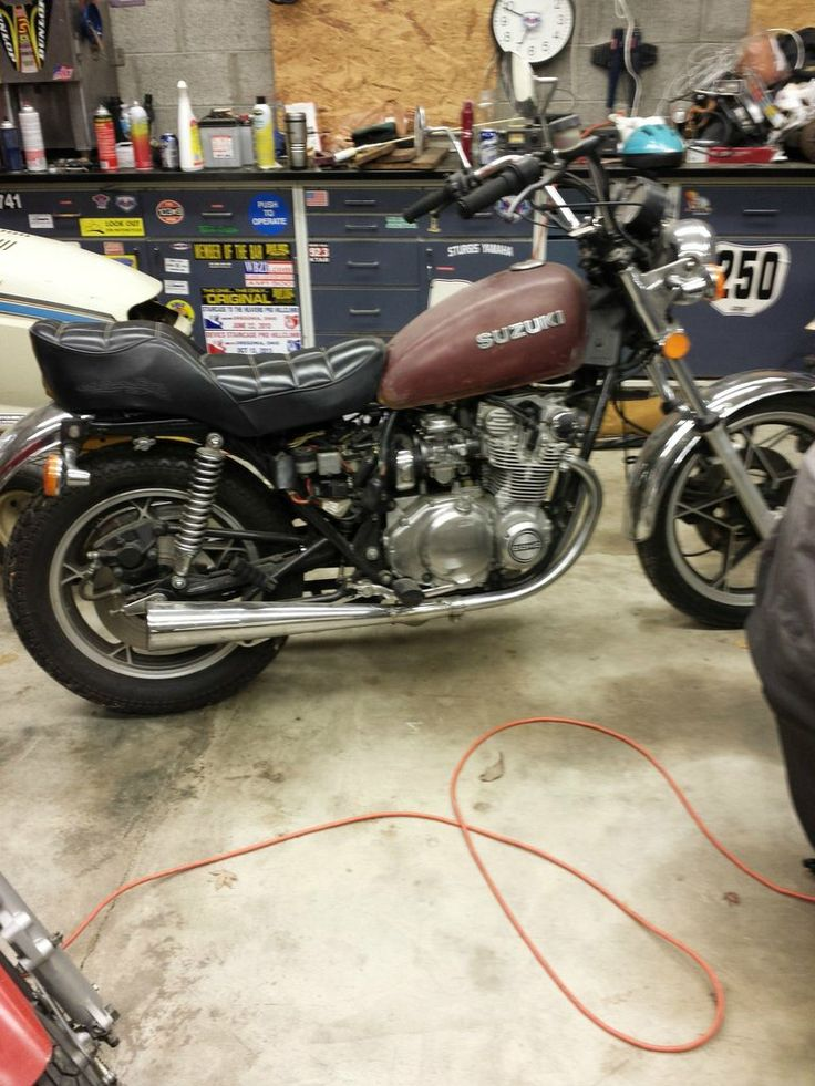 Amazing My 1980 Suzuki GS550L