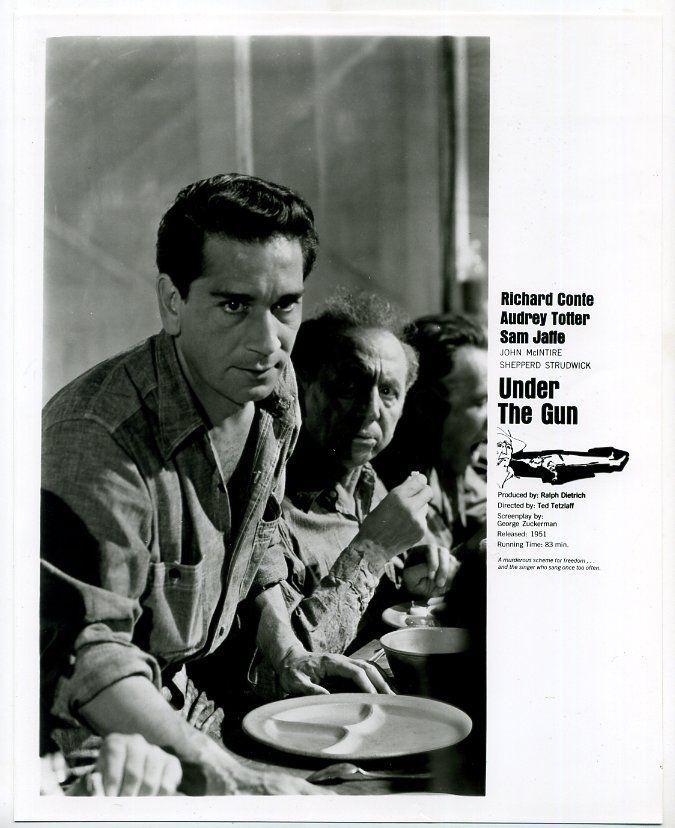 Photo~Richard Conte~Under the Gun (1951) 1960's TV m45510 | Entertainment Memorabilia, Movie Memorabilia, Photographs | eBay!