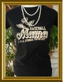 baseball mom shirt   love it!