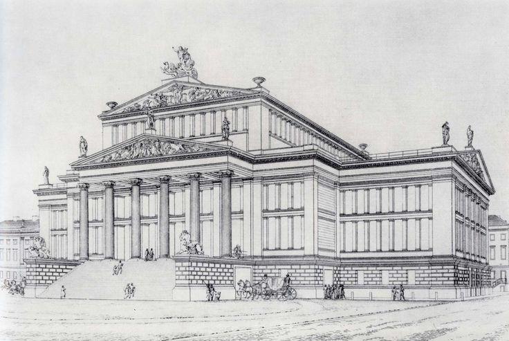 Karl Friedrich Schinkel, Königliches Schauspielhaus, 1821