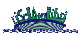 L'isola dei libri  Logo di Oreste Sabadin (2004)
