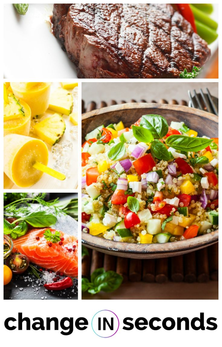 Recipes For Clean Eating https://www.changeinseconds.com/top-100-clean-eating-recipes/