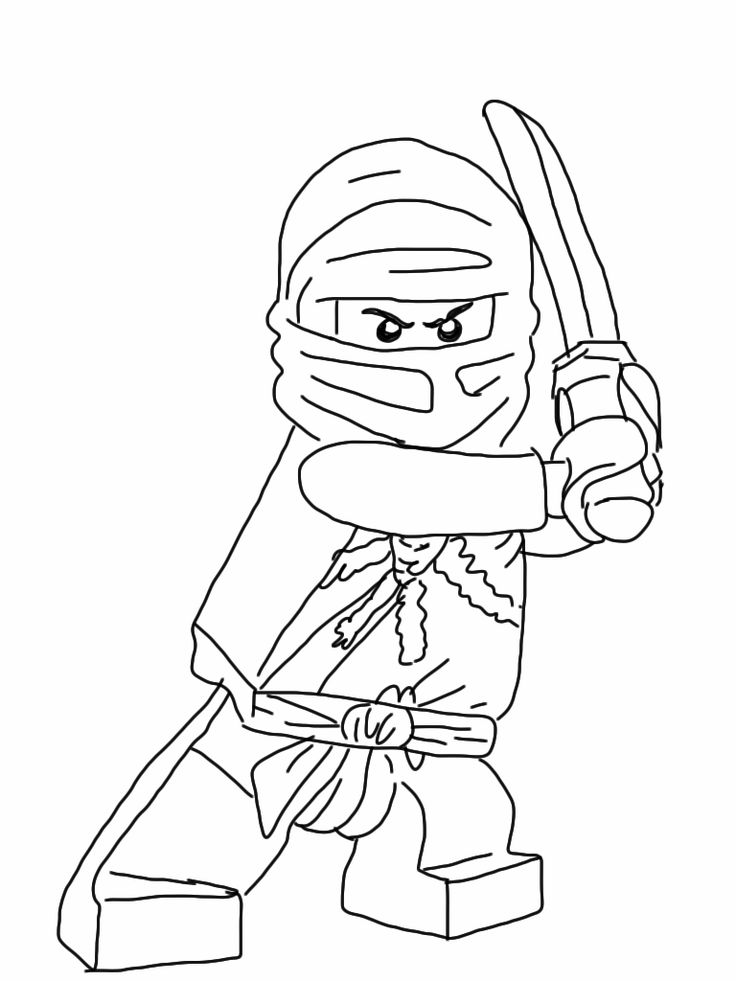 new ninjago coloring pages - photo#28