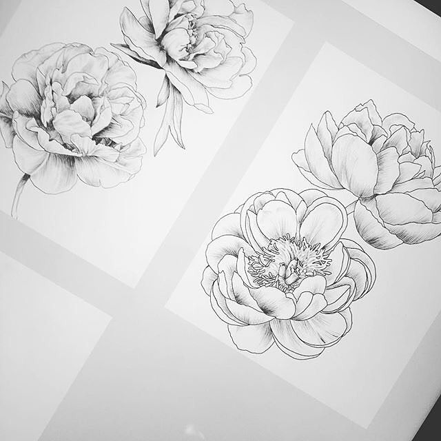 It's time for #sketch #flowers #drawing #sketching #pencil