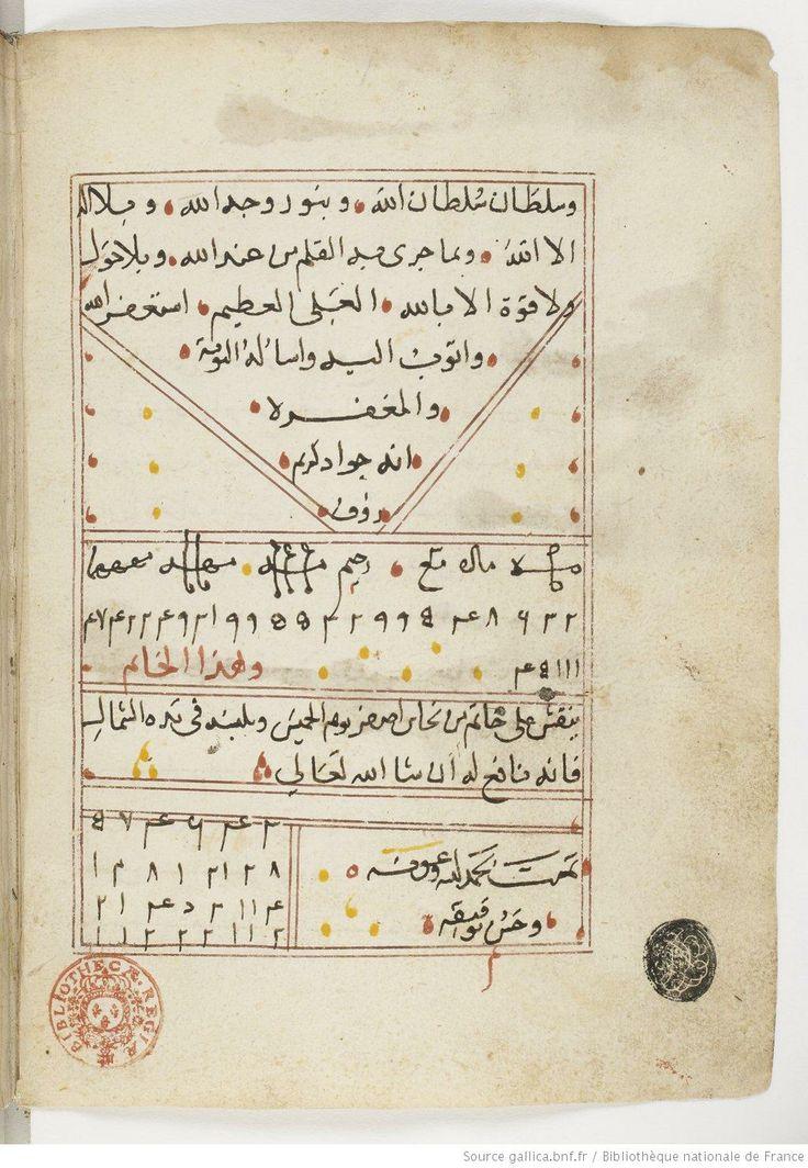 Manuscript-Astrology and Occult Manuscript (Talisman), Abū Maʿshar, Jaʿfar ibn Muḥammad al-Balkhī,1501-1600