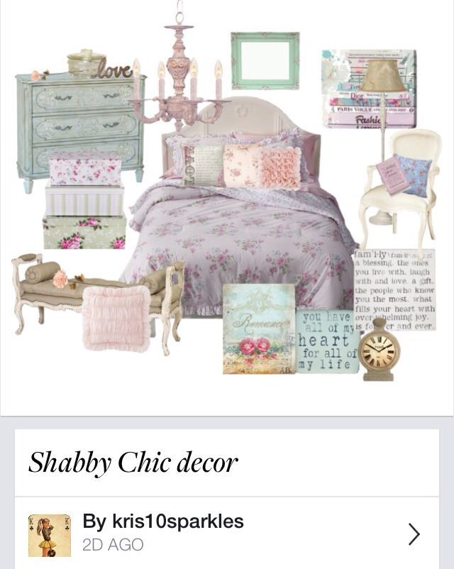 Shabby Chic Decor Bedroom Interesting Design Decoration