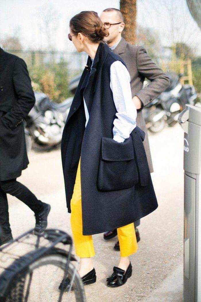 Manteau sans manche femme tenue de jour stylé